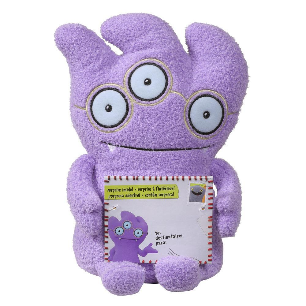 Sincerely UglyDolls Eye Love You Tray Stuffed Plush Toy, Inspired by the UglyDolls Movie, 8 inches tall