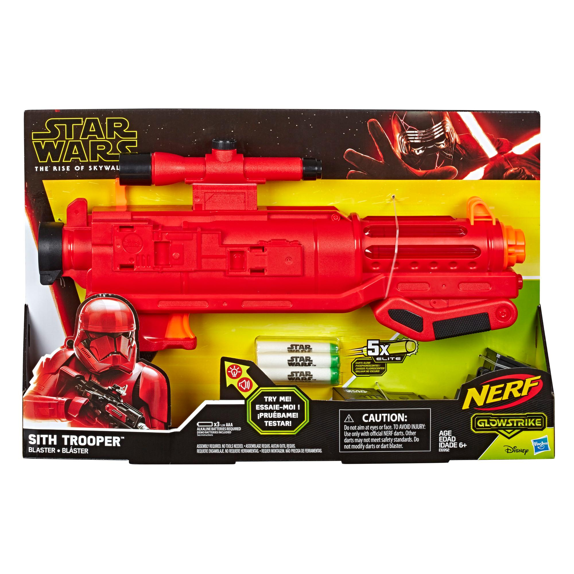 Nerf Star Wars Sith Trooper Blaster