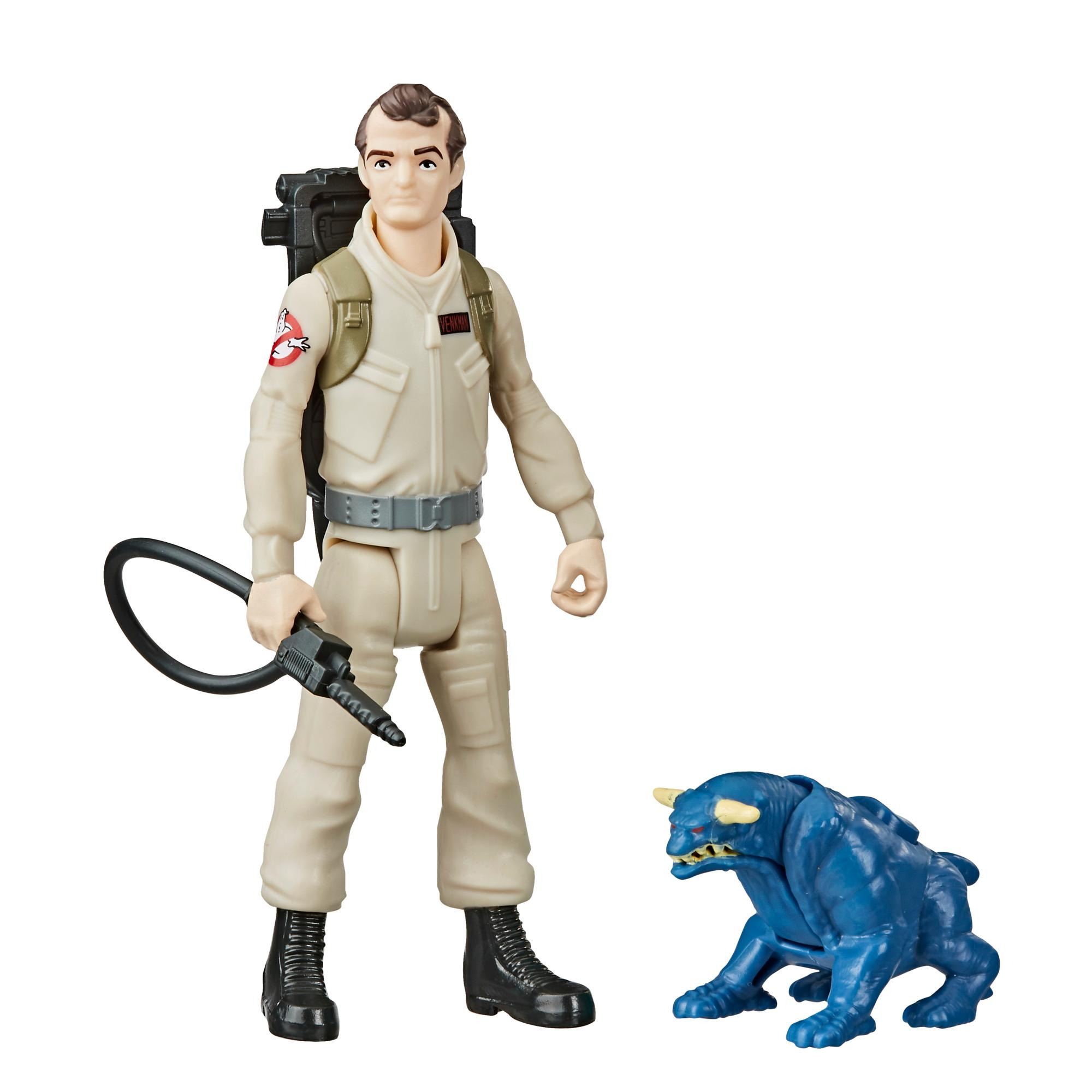 Ghostbusters Fright Features Peter Venkman Figure with Interactive Terror Dog Figure and Accessory, Kids Ages 4 and Up