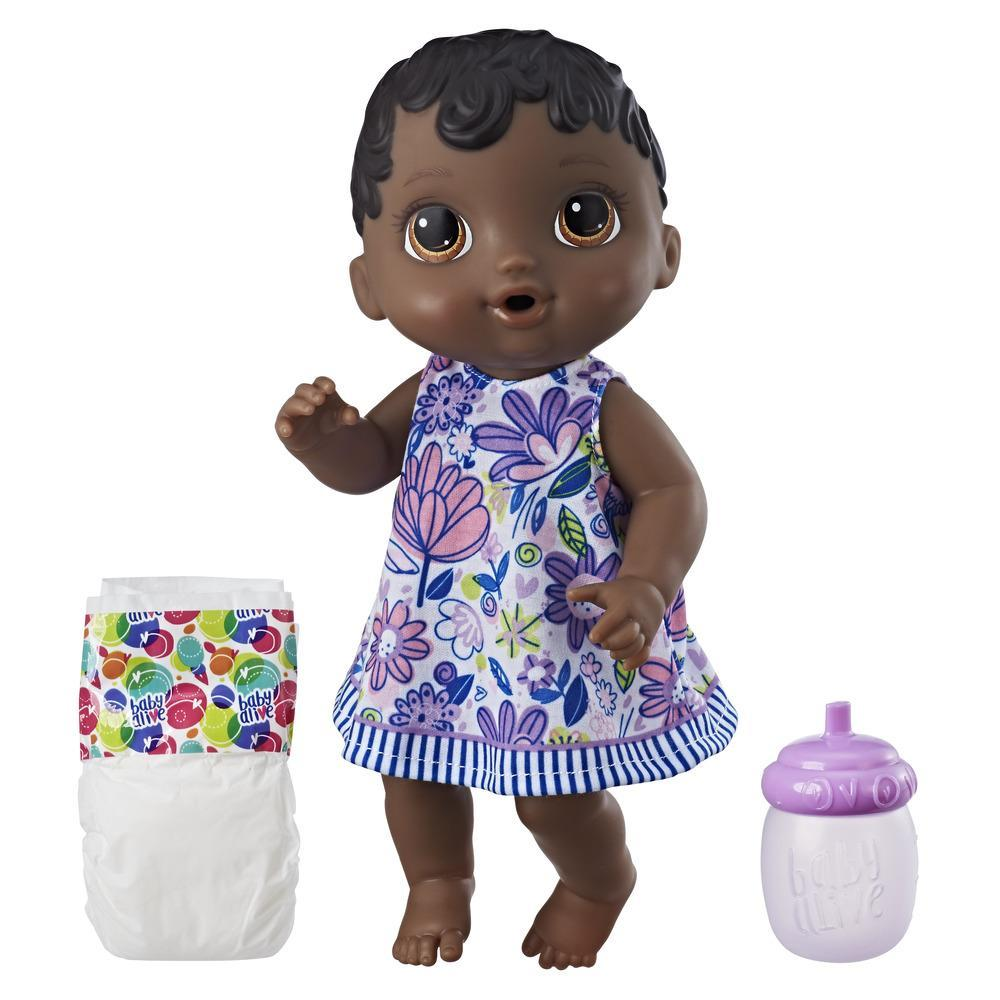 Baby Alive Lil' Sips Baby - Black Sculpted Hair
