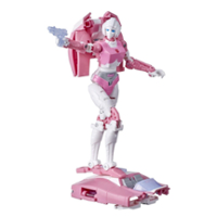 Transformers Toys Generations War for Cybertron: Earthrise Deluxe WFC-E17 Arcee, 5.5-inch
