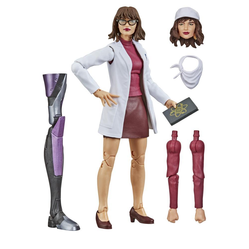 Hasbro Marvel Legends Series X-Men 6-inch Collectible Moira MacTaggert Action Figure Toy And 5 Accessories, Age 4 And Up