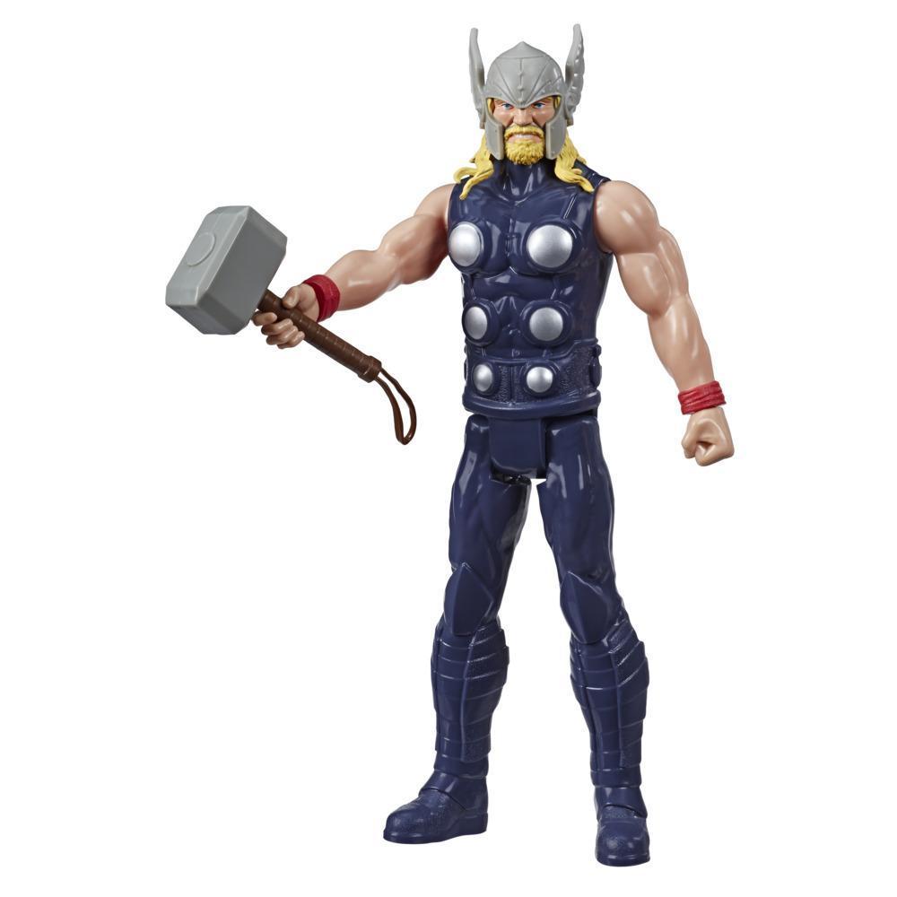 Marvel Avengers Titan Hero Series Blast Gear Thor Action Figure, 12-Inch Toy, For Kids Ages 4 And Up