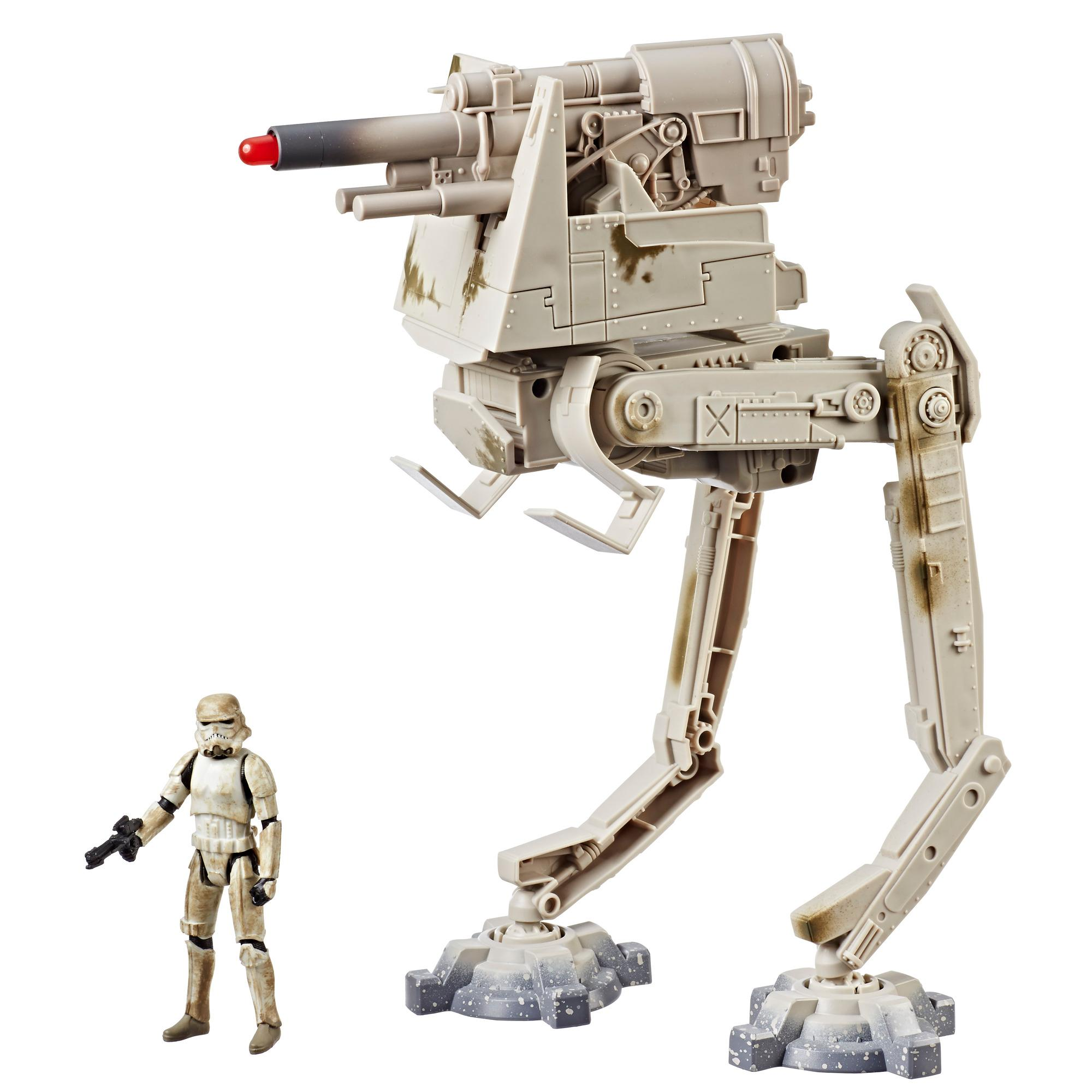 Star Wars Force Link 2.0 AT-DT Imperial Walker with Stormtrooper (Mimban) Figure