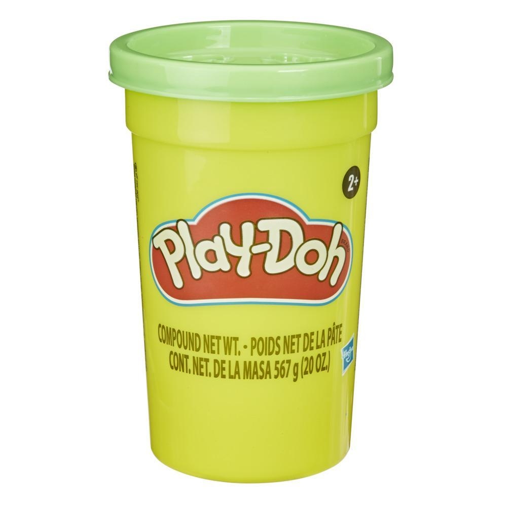 Play-Doh Mighty Can of Green Modeling Compound, 1.25 lb. Bulk Can for Kids 2 Years and Up, Non-Toxic