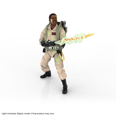 Ghostbusters Plasma Series Glow-in-the-Dark Winston Zeddemore 6-Inch-Scale Collectible Classic 1984 Ghostbusters Figure