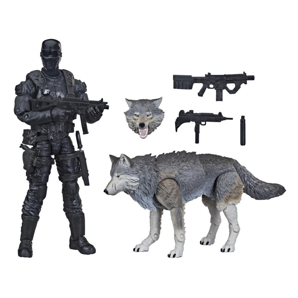 G.I. Joe Classified Series Snake Eyes & Timber: Alpha Commandos Action Figures 30 Collectible Toy wth Custom Package Art