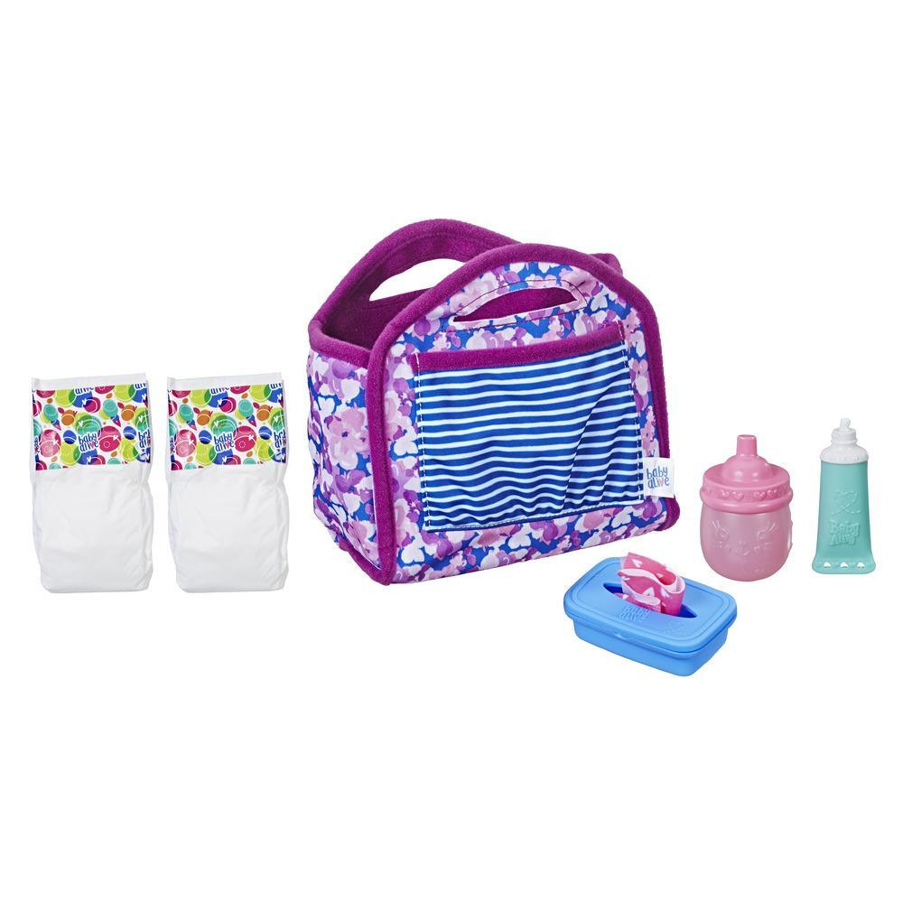Baby Alive Diaper Bag Set