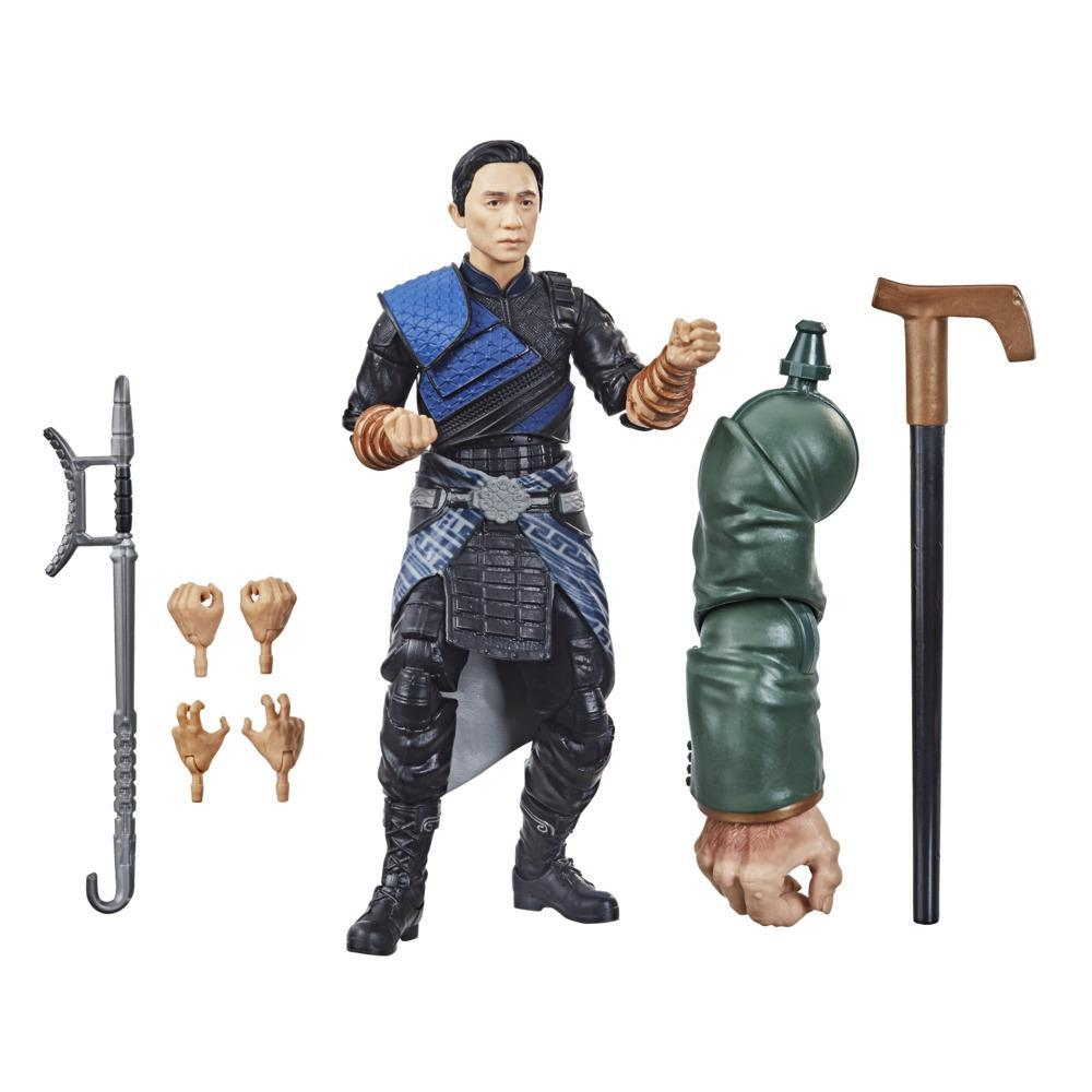 Hasbro Marvel Legends Series Shang-Chi And The Legend Of The Ten Rings 6-inch Collectible Wenwu Action Figure Toy For Age 4 and Up