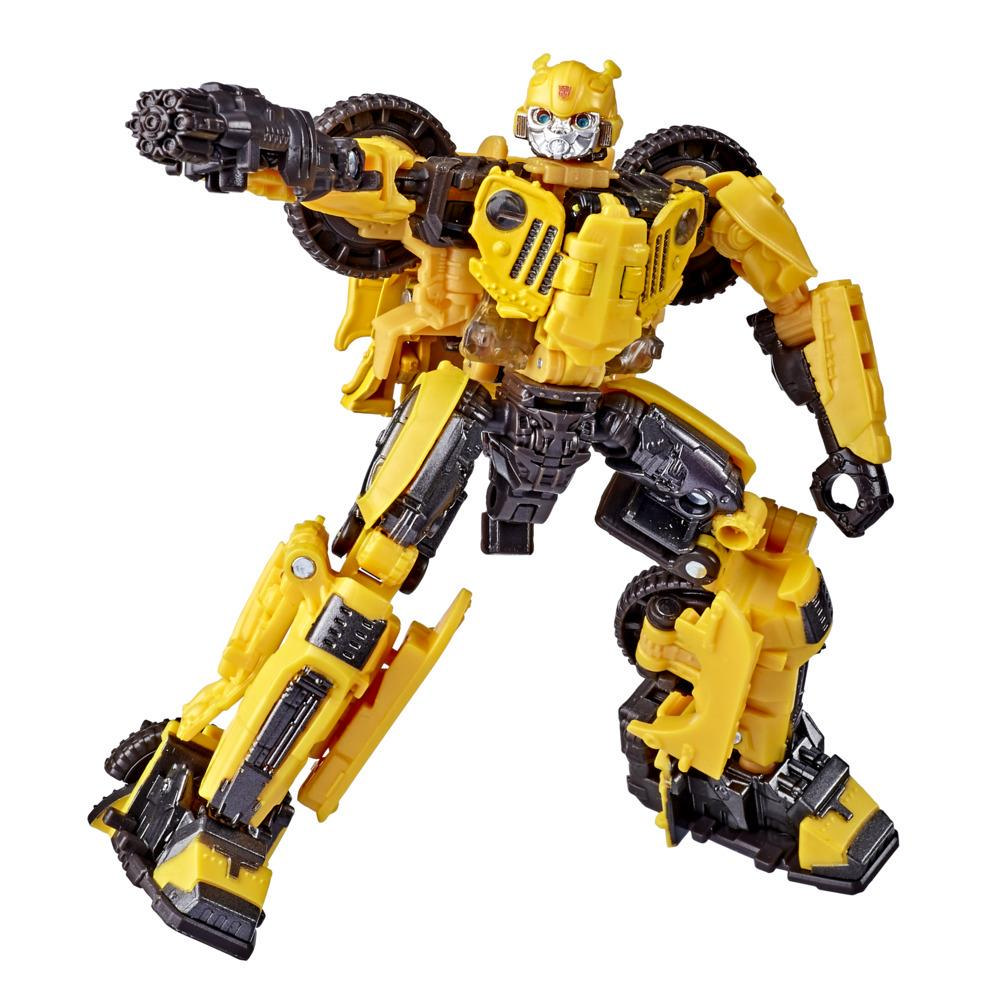 Transformers Toys Studio Series 57 Deluxe Class Bumblebee Movie Offroad Bumblebee Action Figure – Ages 8 and Up, 4.5-inch