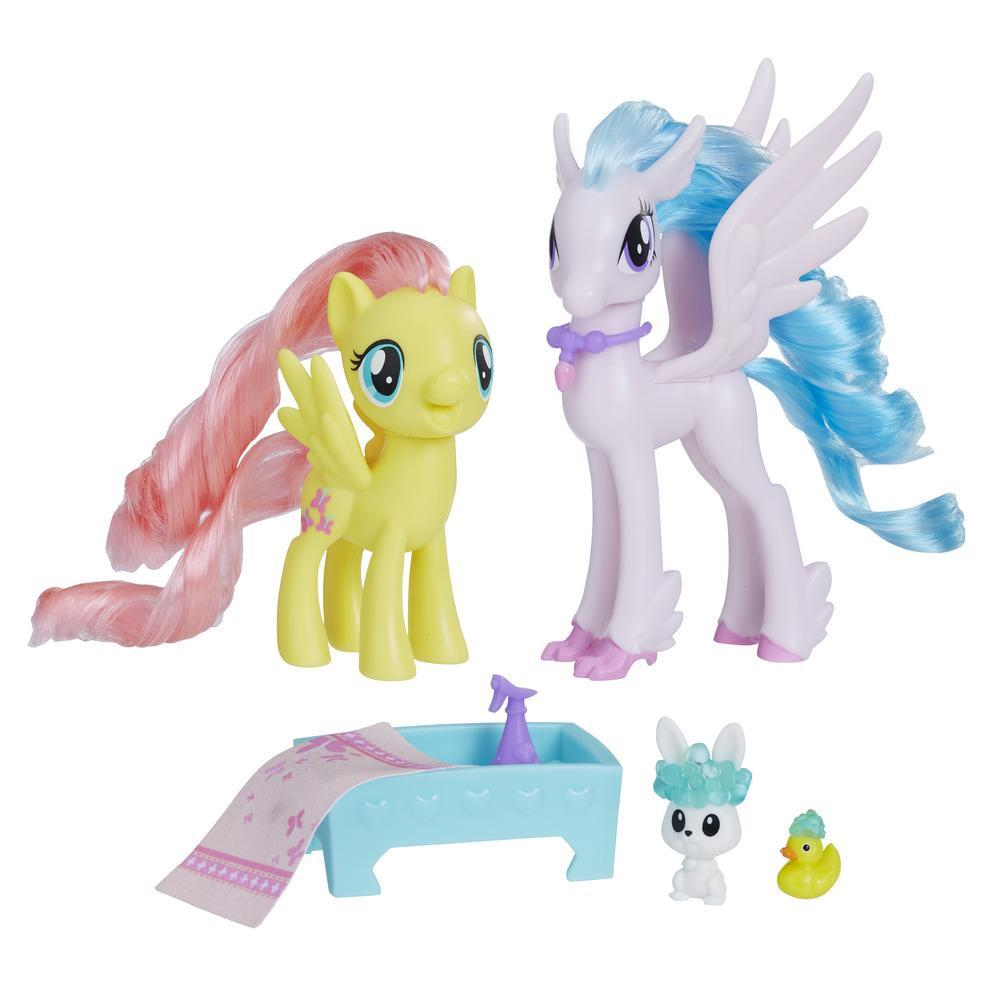 My Little Pony Fluttershy & Silverstream Kindness Lesson