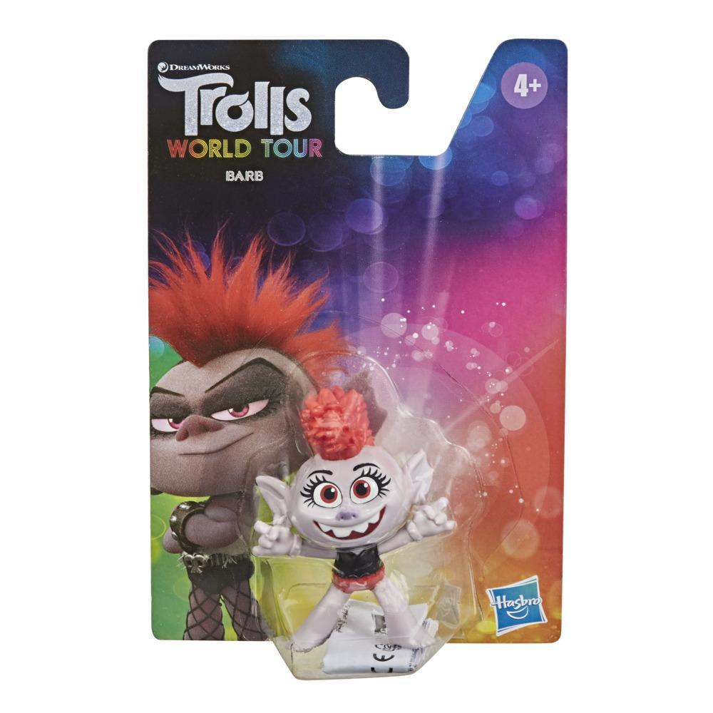 DreamWorks Trolls World Tour Barb Collectable Figure, Toy Inspired by the Movie Trolls World Tour, For Kids 4 and Up