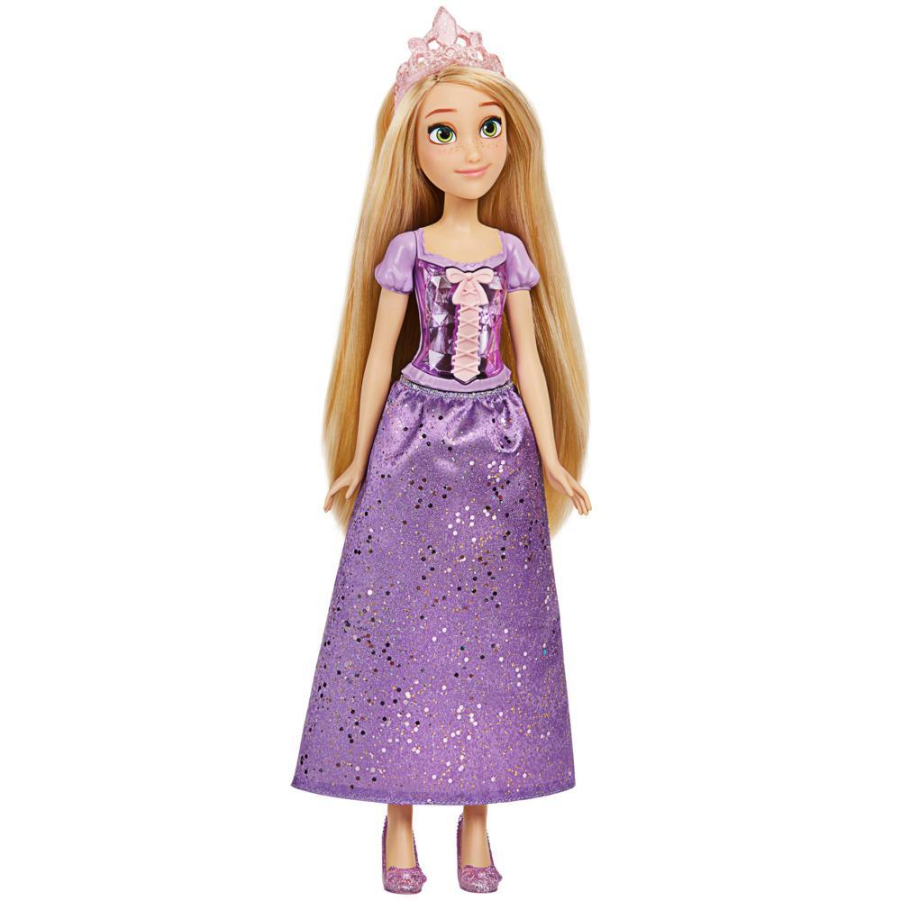 Disney Princess Royal Shimmer Rapunzel Doll, Fashion Doll with Skirt and Accessories, Toy for Kids Ages 3 and Up