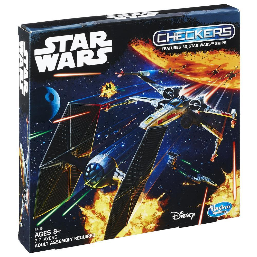 Star Wars 3D Checkers Game