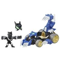 Marvel Super Hero Mashers Shadow Claw vehicle and Black Panther Figure