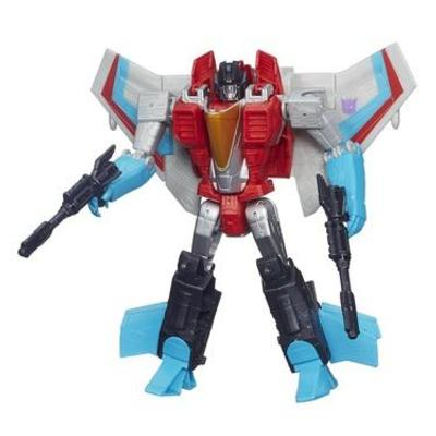 Transformers Generations Cyber Battalion Series Starscream Figure
