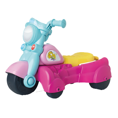 PLAYSKOOL ROCKTIVITY WALK 'N ROLL RIDER (Pink)
