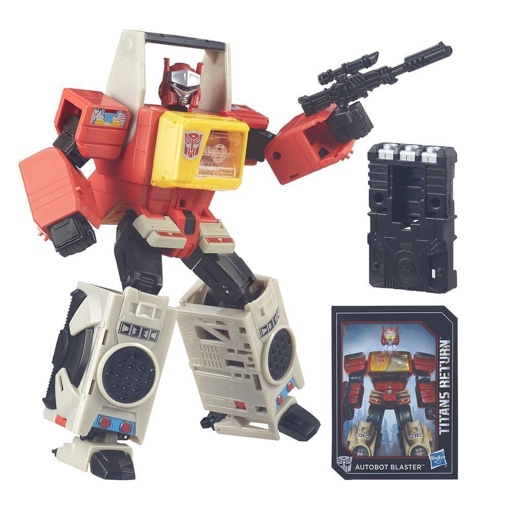 Transformers Generations Titans Return Autobot Blaster and Twin Cast