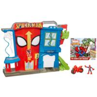 MARVEL SPIDER-MAN ADVENTURES PLAYSKOOL HEROES Electronic SPIDER-MAN STUNT CITY Playset