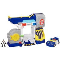 TRANSFORMERS RESCUE BOTS PLAYSKOOL HEROES BOTS & ROBBERS POLICE HEADQUARTERS Playset
