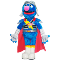 SESAME STREET PLAYSKOOL Flying Super Grover 2.0