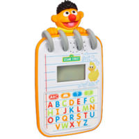 SESAME STREET PLAYSKOOL STEPS TO SCHOOL Ernie's Alphabet Notepad
