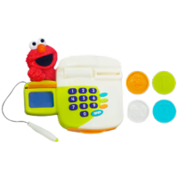 SESAME STREET PLAYSKOOL COME 'N PLAY Elmo Cash Register Toy