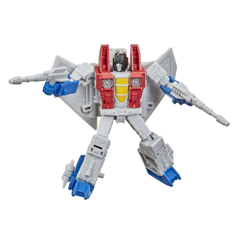 Transformers Toys Generations War for Cybertron: Kingdom Core Class WFC-K12 Starscream Action Figure - 8 and Up, 3.5-inch