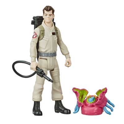 Ghostbusters Fright Features Ray Stantz Figure with Interactive Ghost Figure and Accessory, Toys for Kids Ages 4 and Up