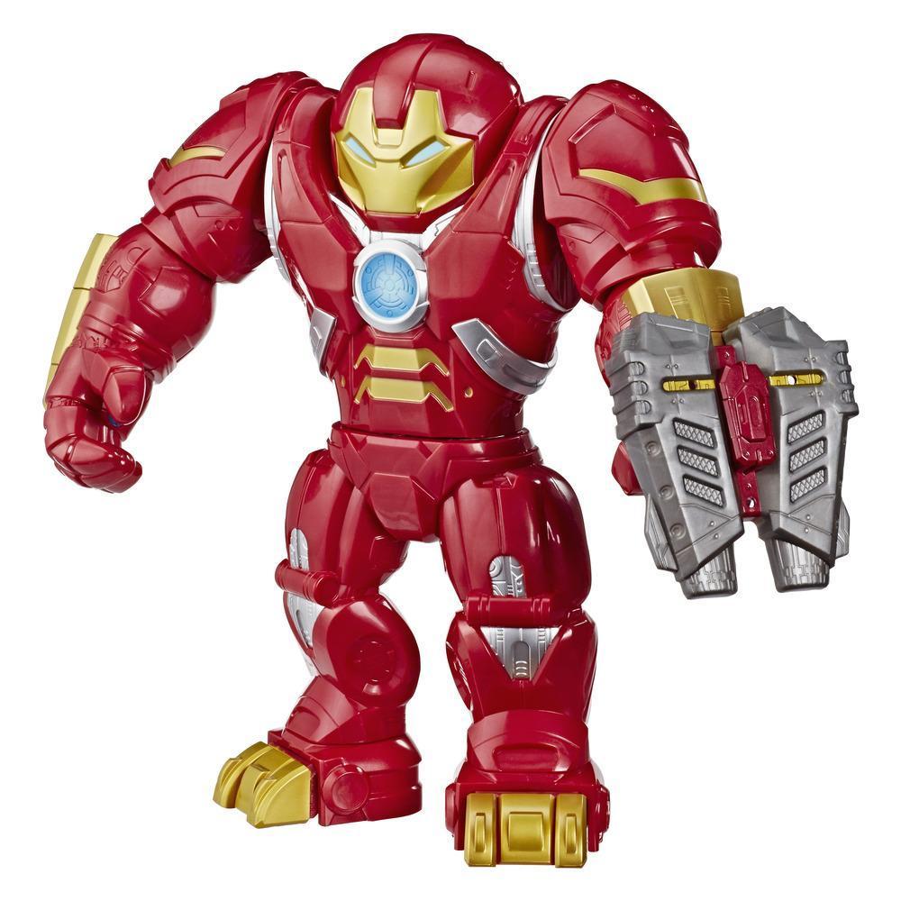 Playskool Heroes Mega Mighties Marvel Super Hero Adventures Hulkbuster, 12-Inch Figure, Toys for Kids Ages 3 and Up