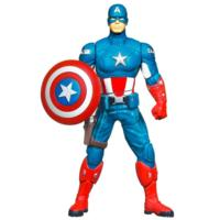 MARVEL THE AVENGERS MIGHTY BATTLERS Shield Spinning CAPTAIN AMERICA Figure (6 Inches)
