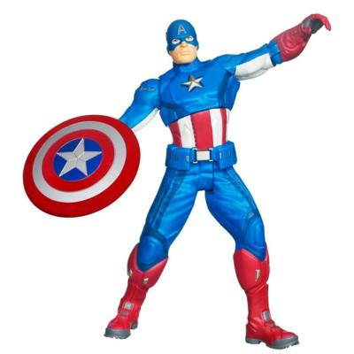 MARVEL THE AVENGERS Ultra Strike CAPTAIN AMERICA Figure (10 Inches)