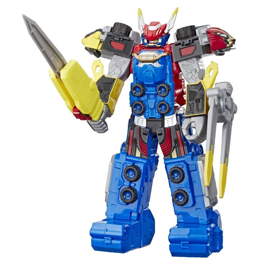 Power Rangers Beast Morphers Beast-X Megazord 10-Inch-Scale Action Figure