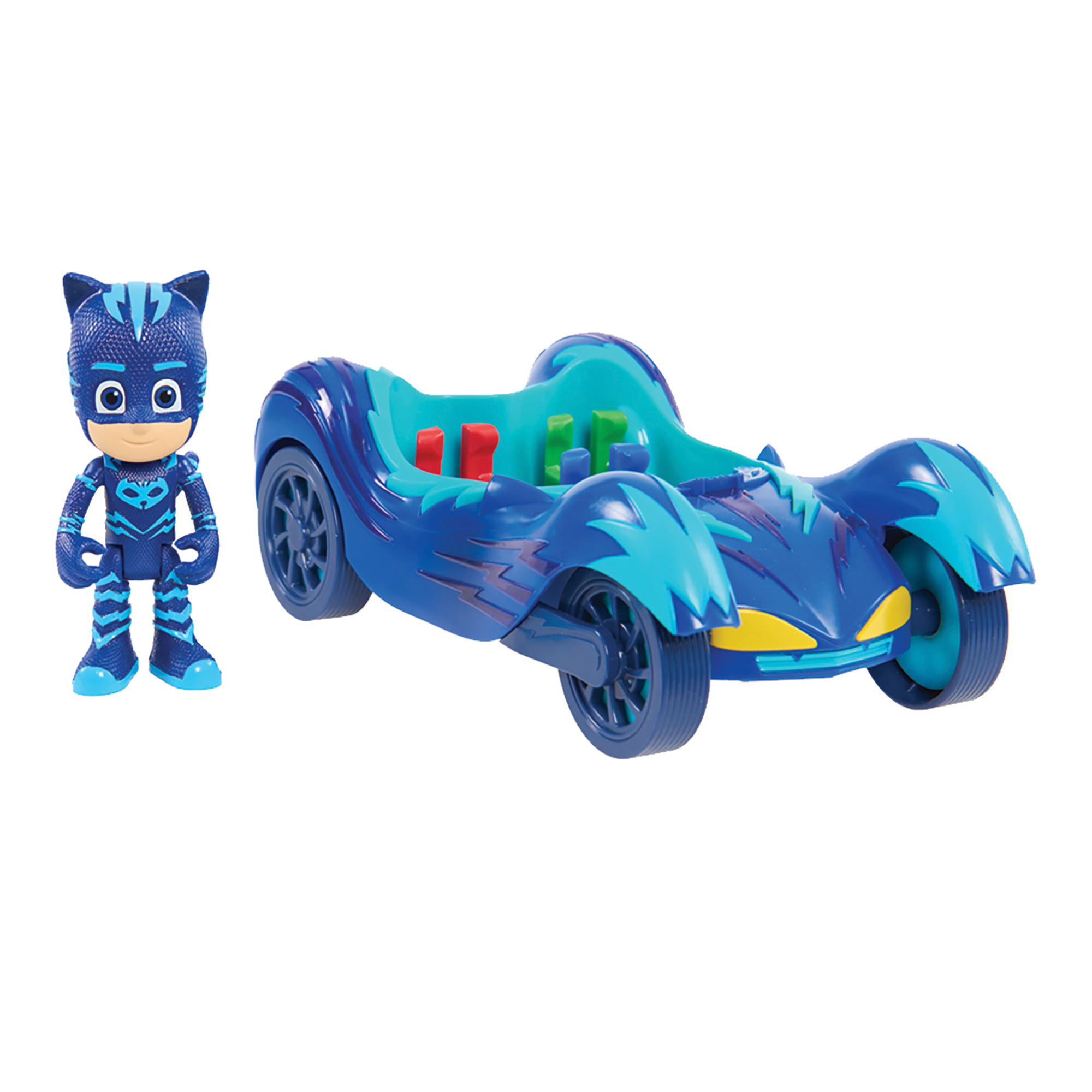 PJ Masks Vehicle & Figure – Catboy Cat Car