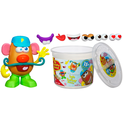 PLAYSKOOL MR. POTATO HEAD TATER TUB