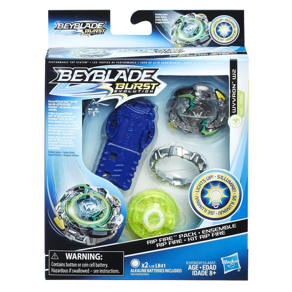Beyblade Burst Evolution Rip Fire Starter Pack Wyvron W2