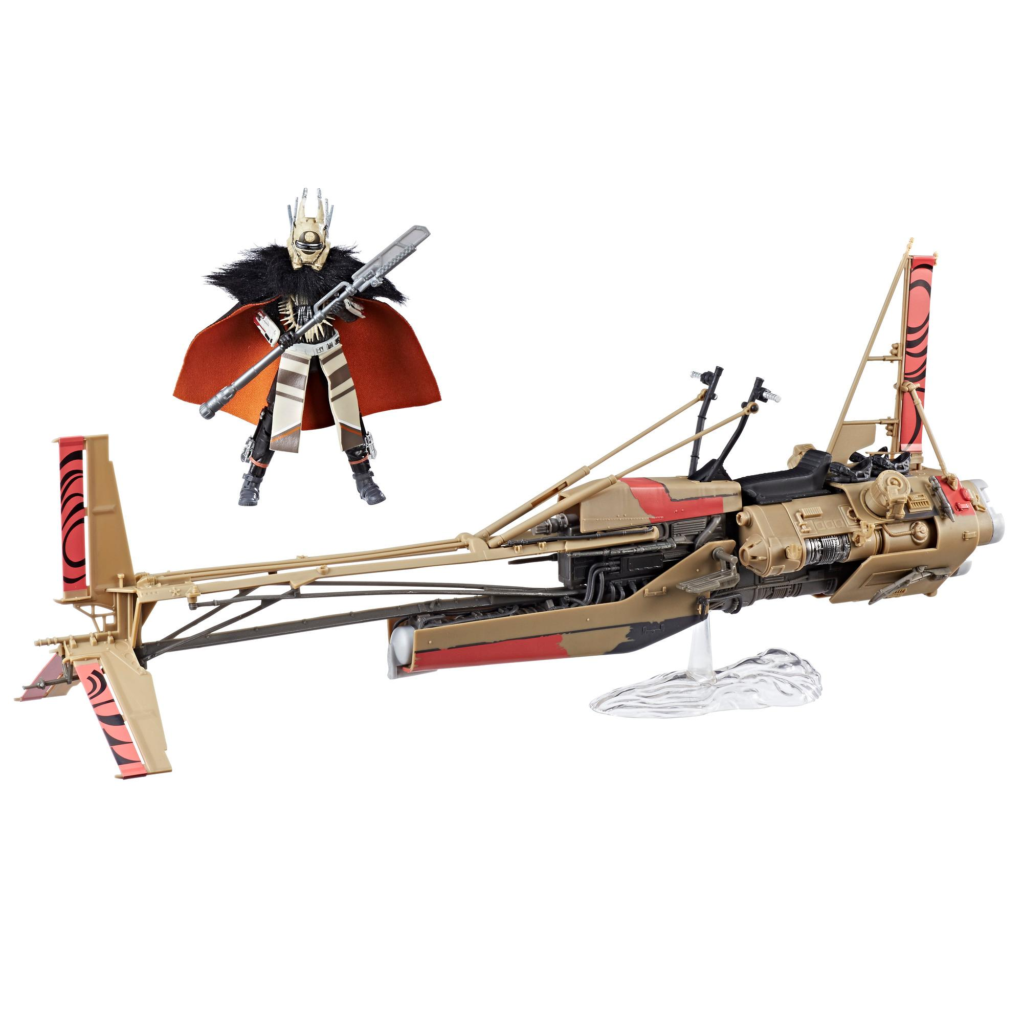 Star Wars The Black Series Enfys Nest & Enfys Nest's Swoop Bike