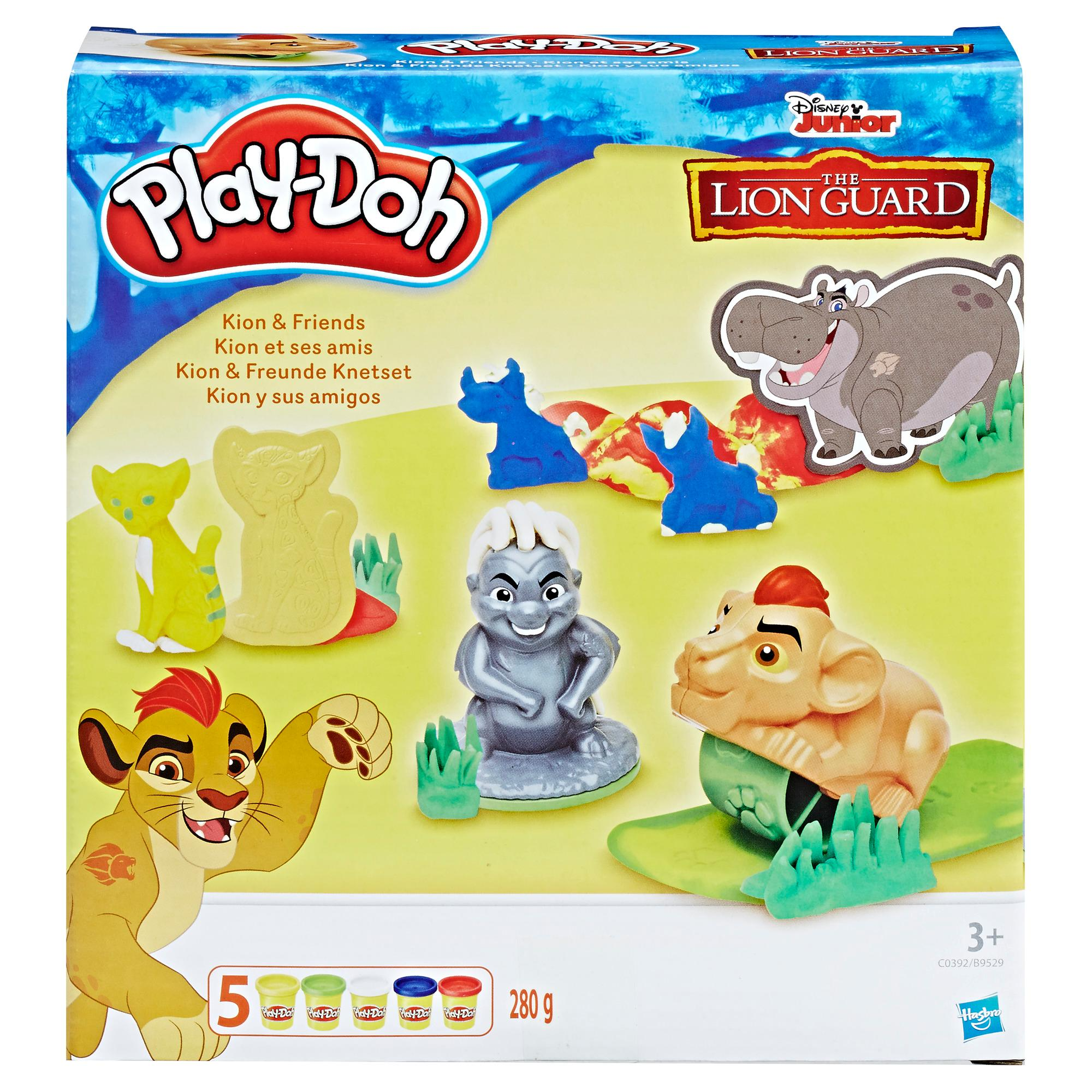 Play-Doh Disney Lion Guard Kion and Friends
