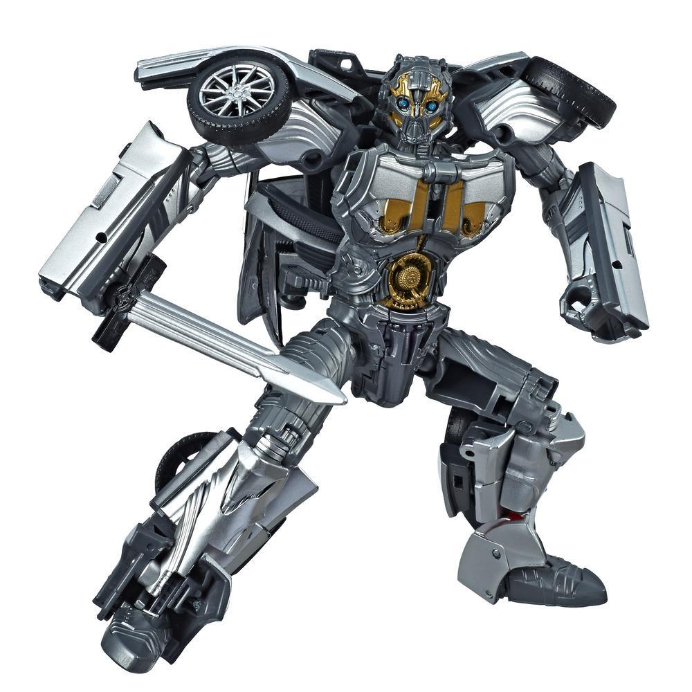 Transformers Toys Studio Series 39 Deluxe Class Transformers: The Last Knight Movie Cogman Action Figure - Ages 8 and Up, 4.5-inch
