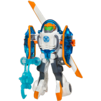 PLAYSKOOL HEROES TRANSFORMERS RESCUE BOTS Energize Blades the Copter-Bot Figure