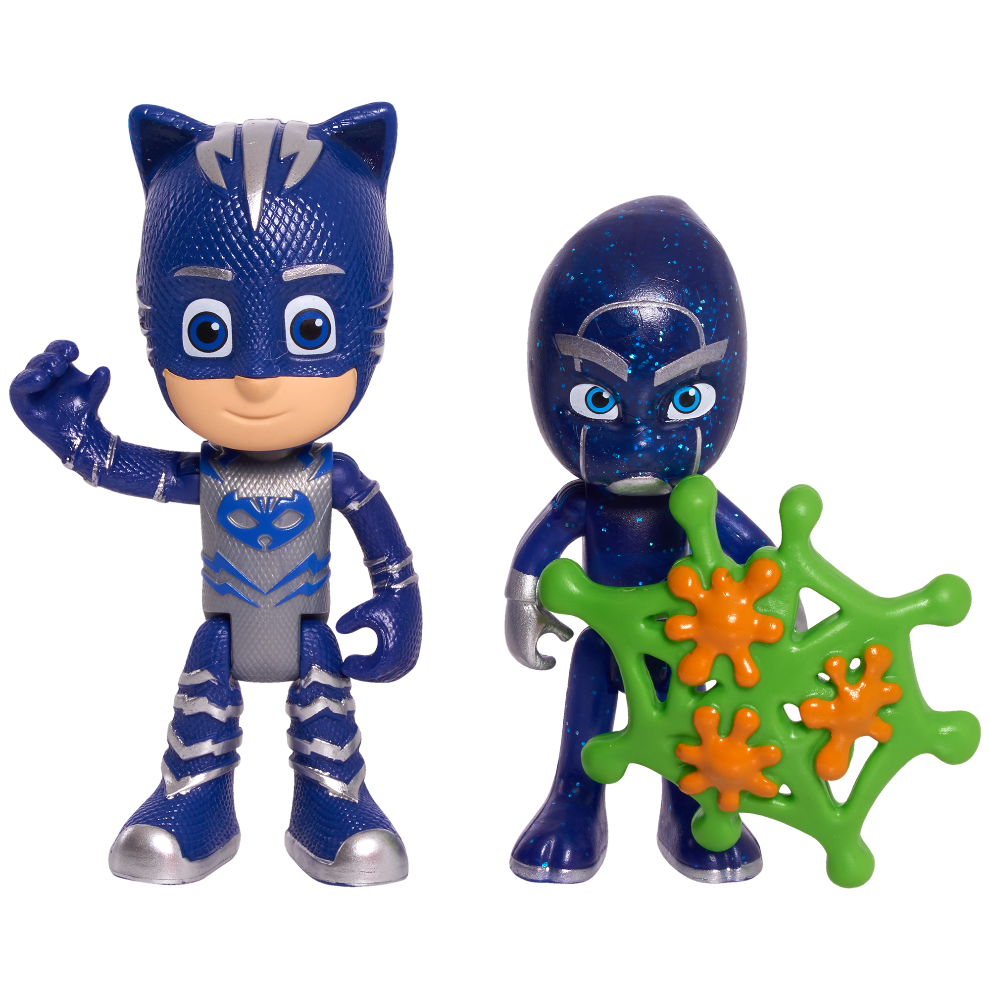 PJ Masks 2 Pack Figure Set - Catboy & Night Ninja