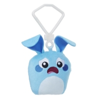 Hanazuki Hemka Clip Plush Blue/Sad