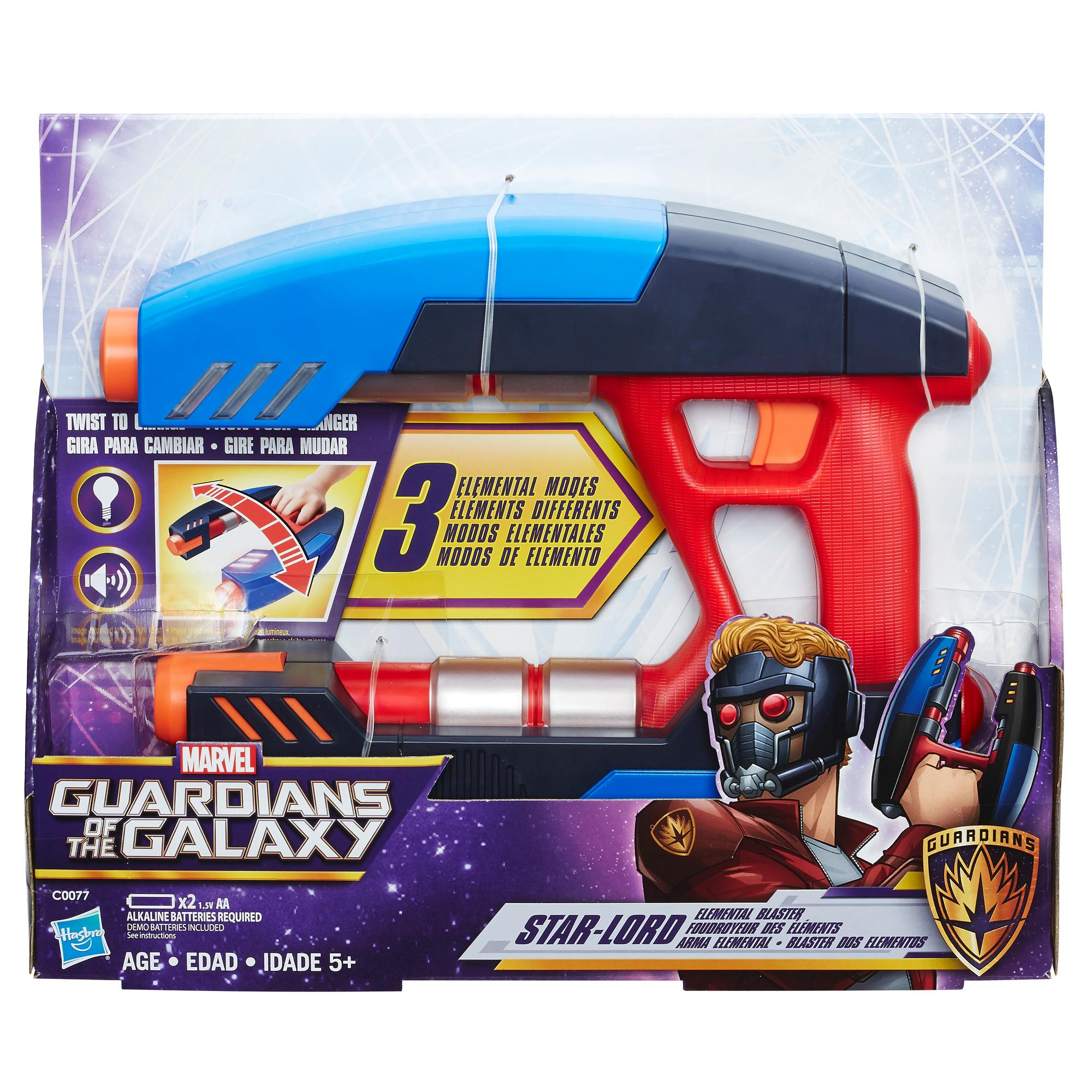 Marvel Guardians of the Galaxy StarLord Elemental Blaster  Marvel