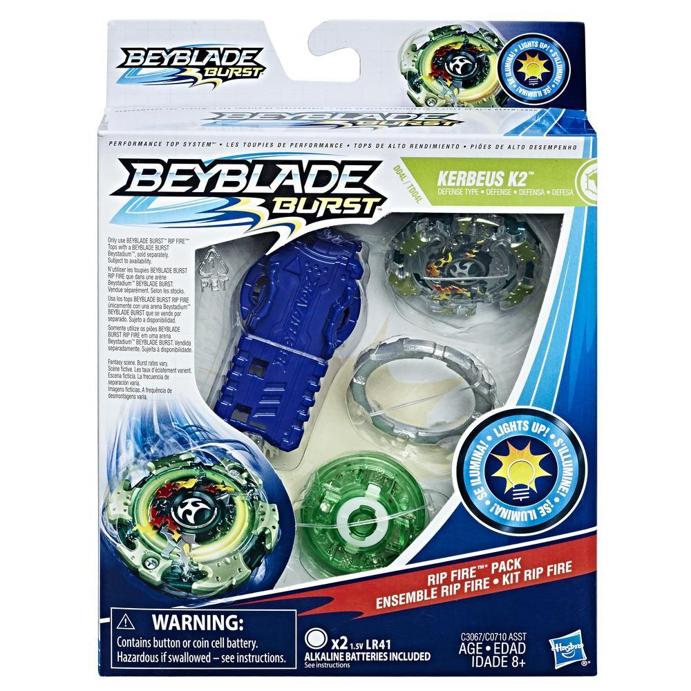Beyblade Burst Rip Fire Starter Pack Kerbeus K2