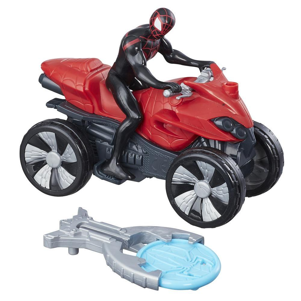 Marvel Spider-Man Blast N' Go Racer Kid Arachnid with ATV