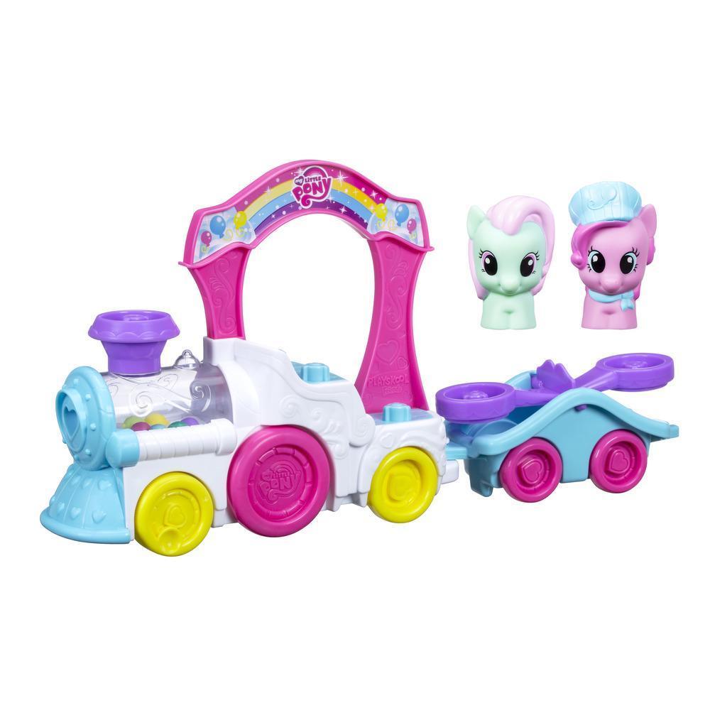 Playskool Friends My Little Pony Pinkie Pie Pop-Along Train
