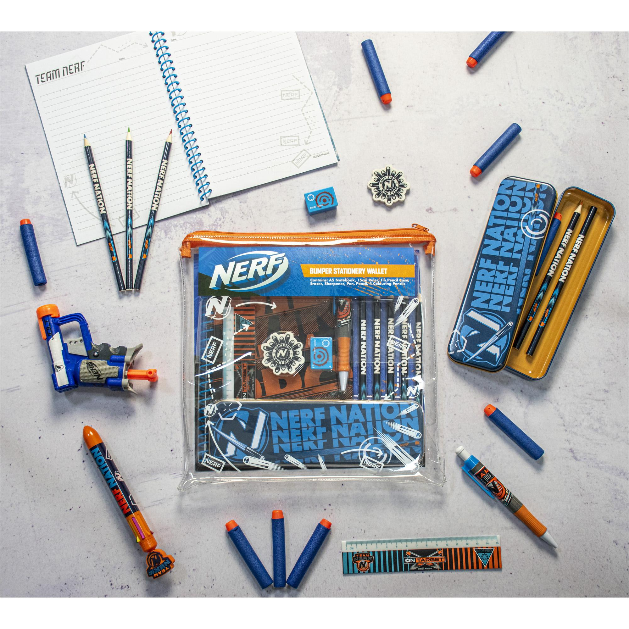 Nerf Bumper Stationery Wallet (Square)
