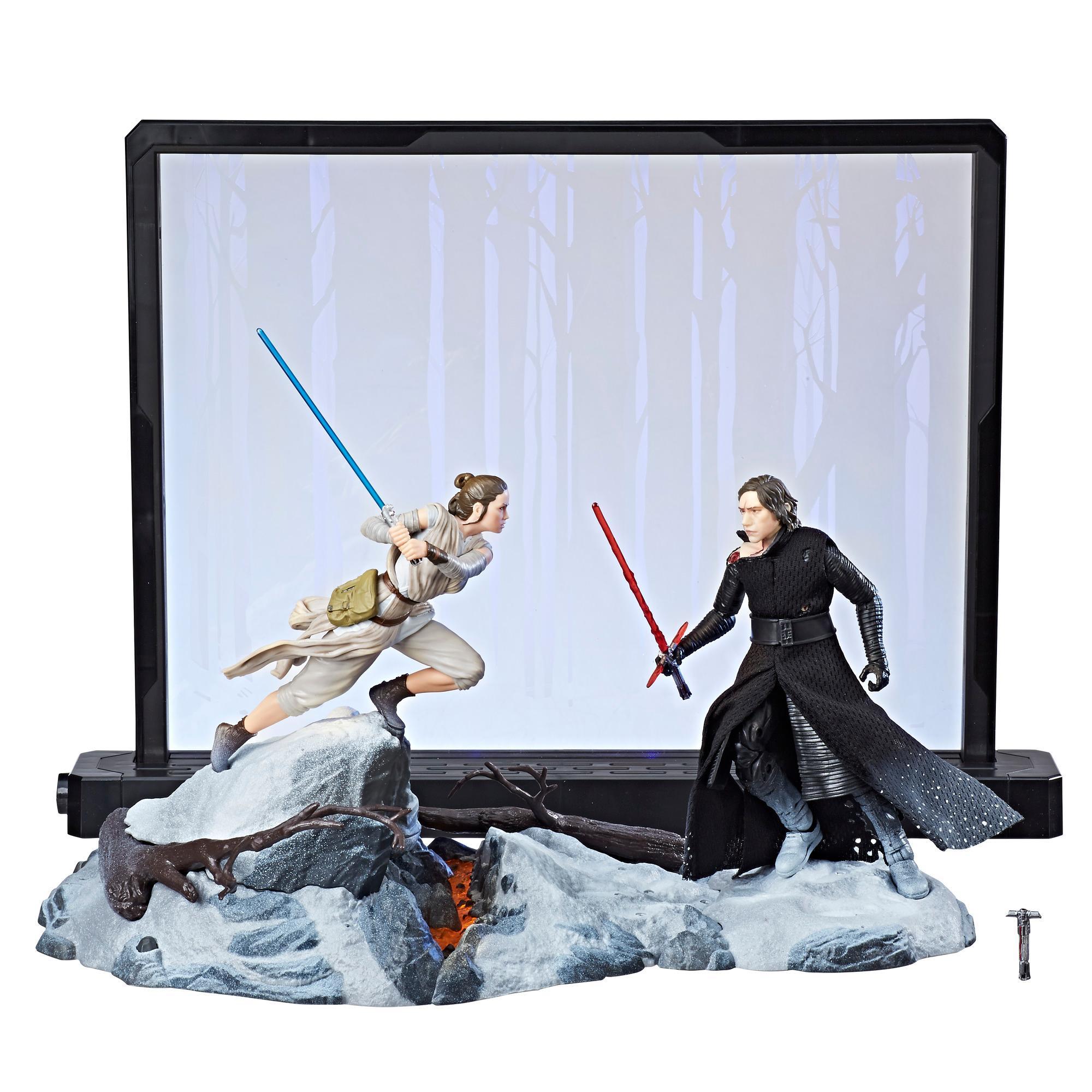 Star Wars The Black Series Centerpiece Rey (Starkiller Base) & Kylo Ren Figure