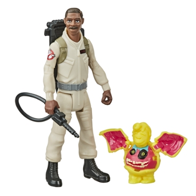 Ghostbusters Fright Features Winston Zeddemore Figure and Interactive Ghost Figure and Accessory for Kids Ages 4 and Up