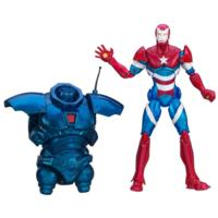 Marvel Iron Man 3 Marvel Legends Heroic Age Iron Patriot Figure
